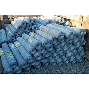 50mm Hot Dipped Galvanised Wire Netting