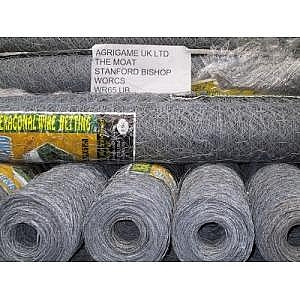 25mm Pre-galvanised Wire Netting