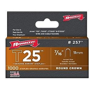 Arrow T25 11mm Staples