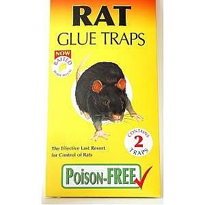 2 Rat Glue Traps
