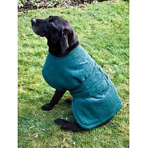 Dog Towelling Lined Wax Coat