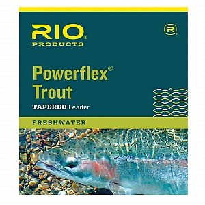RIO Freshwater Tapered Leader Powerflex® Trout