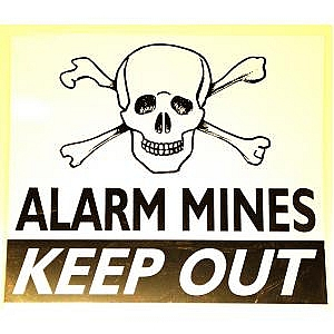 Alarm Mine Warning Signs