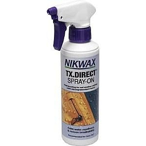 NikWax TX. Direct Spray On