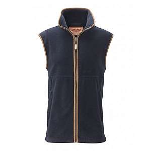 Schoffel Oakham Fleece Gilet Navy