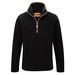 Schoffel Berkeley 1/4 Zip Gunmetal