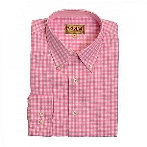 Schoffel Durham Pink Check