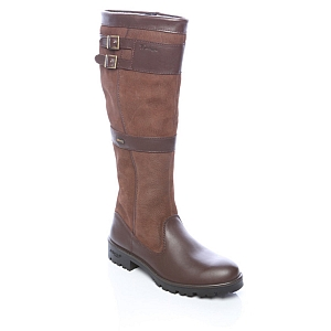 Dubarry Longford Leather Boot Walnut