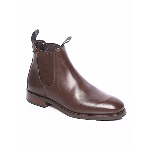 Dubarry Kerry Leather Ankle Boot Mahogany