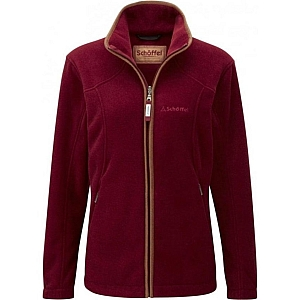 Schoffel Burley Fleece Ruby