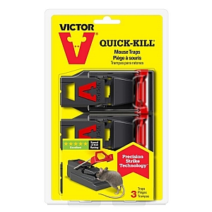 Victor Quick Kill Mouse Trap 2 Pack