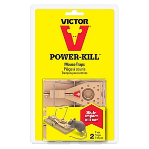Victor Powerkill Mouse Trap 2 Pack