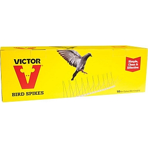 Victor Bird Spikes 50cm Length 10 Pack