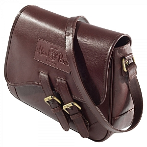 Alan Paine Ladies Leather Handbag Oak