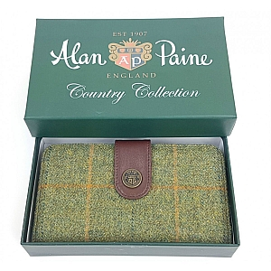 Alan Paine Compton Ladies Large Tweed Purse Landscape