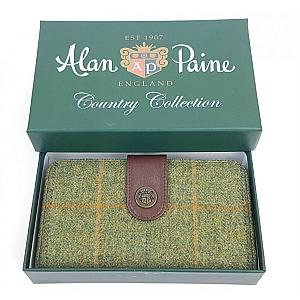 Alan Paine Compton Ladies Large Tweed Purse Landscape