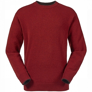 Musto Shooting Crew Neck Jumper Firethorn