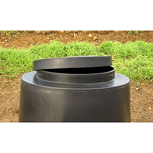 Outdoor 45 Gallon Feeder Lid - Lift Off Lid