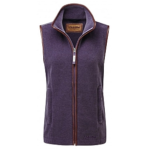 Schoffel Lyndon II Fleece Gilet Mink Heather