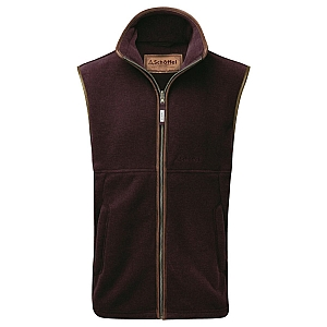 Schoffel Oakham Fleece Gilet Fig