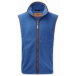 Schoffel Oakham Fleece Gilet Colbalt Blue