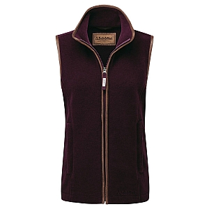 Schoffel Lyndon II Fleece Gilet Fig