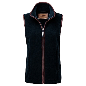 Schoffel Lyndon II Fleece Gilet Slate Blue