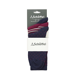 Schoffel Beck Bamboo Sock (Pack of 3)