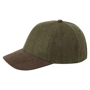 Schoffel Sandringham Tweed Baseball Cap