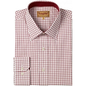 Schoffel Cambridge Red Check Shirt