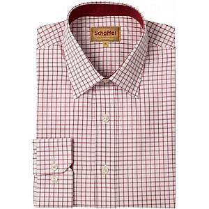 Schoffel Cambridge Red Check Shirt