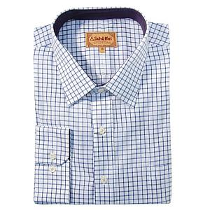 Schoffel Cambridge Royal Navy Check Shirt
