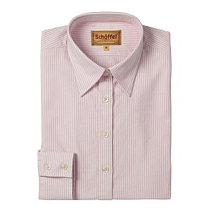 Schoffel Oxford Ladies Cotton Shirt Pink
