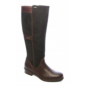 Dubarry Fermoy Boot Black/Brown