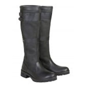 Dubarry Longford Leather Boot Black