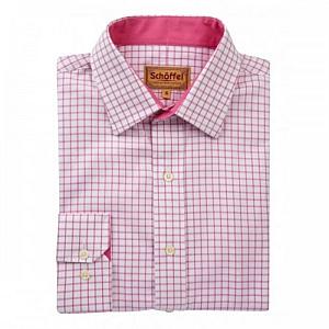 Schoffel Cambridge Pink Check Shirt