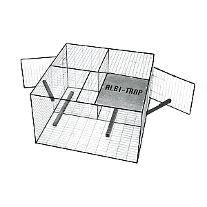 Larsen Trap Side Entry Fold Flat