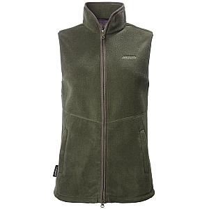 Musto Womens Glemsford Polartec® Fleece Gilet - Dark Moss