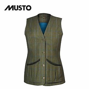 Musto Ladies Stretch Technical Tweed Waistcoat - Rowan