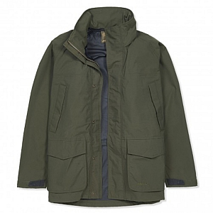 Musto Mens Fenland Packaway Jacket - Dark Moss