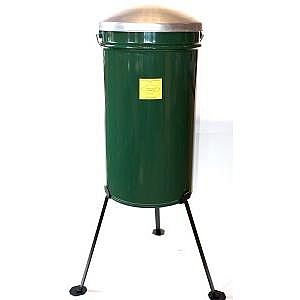 Long Leg 40kg Outdoor Feeder c/w Lid