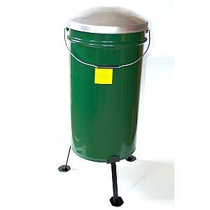 Short Leg 40kg Outdoor Feeder c/w Lid