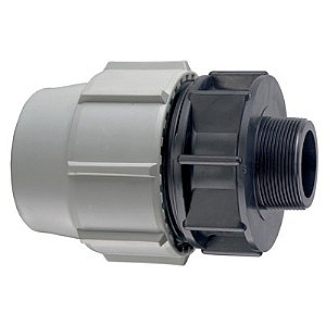 Plasson Male Adaptor BSP Thread