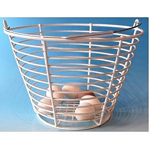 Rotomaid Egg Basket