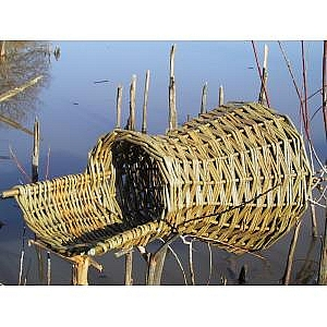 Wicker Duck Nesting Basket