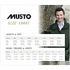 Musto Clothing & Size Guide
