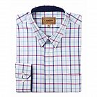 view Schoffel Padstow Shirt - Pink/Blue Check details