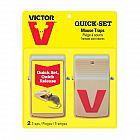 view Victor Quick Set Mouse Trap 2 Pack details